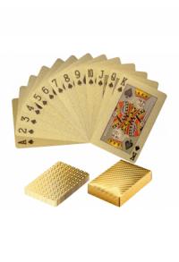 Pokerkarten Kartendeck Gold