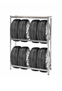 Reifenregal für bis zu 8 Reifen